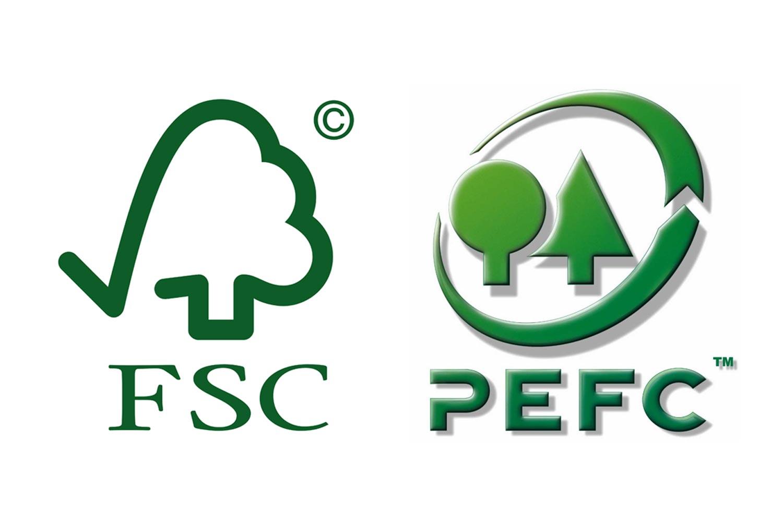 Resultado de imagen de FSC PEFC