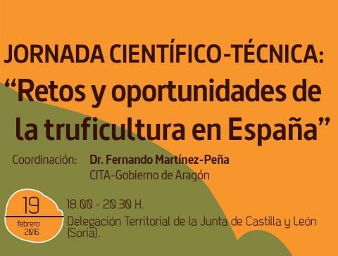 Jornada científico-técnica sobre 'Retos y oportunidades de la truficultura en España'