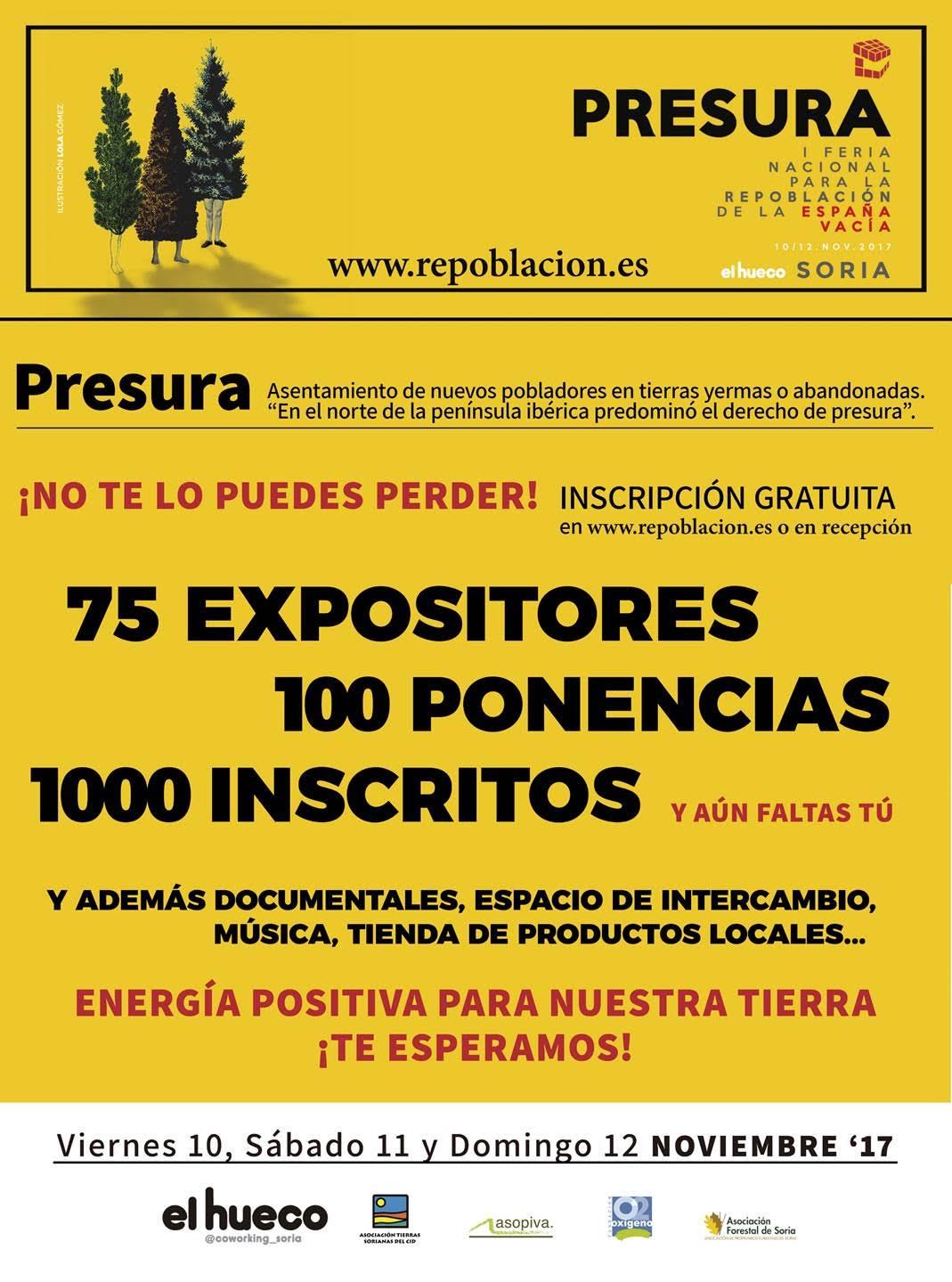 Ya está aquí «Presura»: la Feria para la repoblación de la España vacía